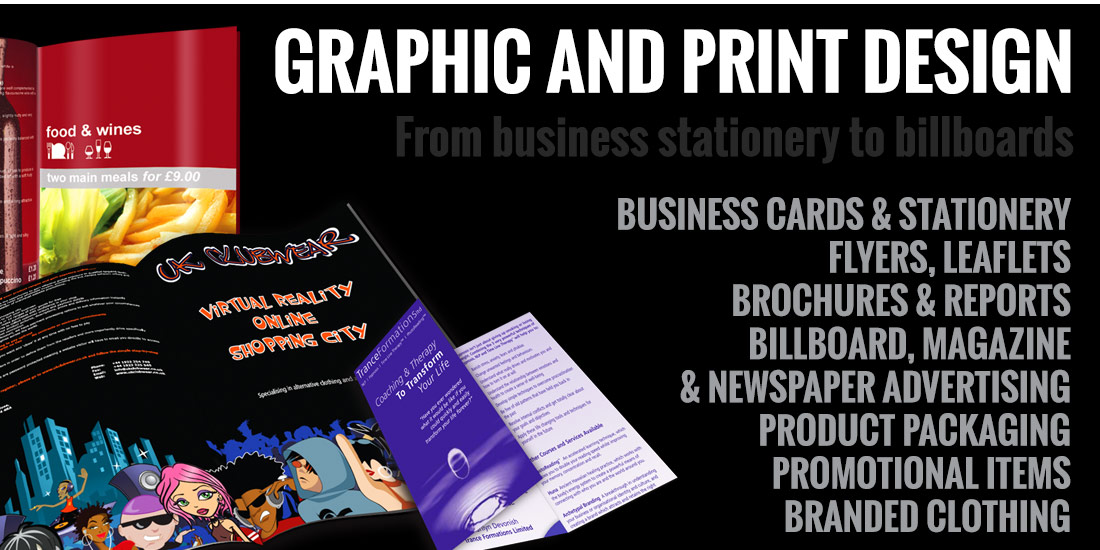 Graphic and Print Design